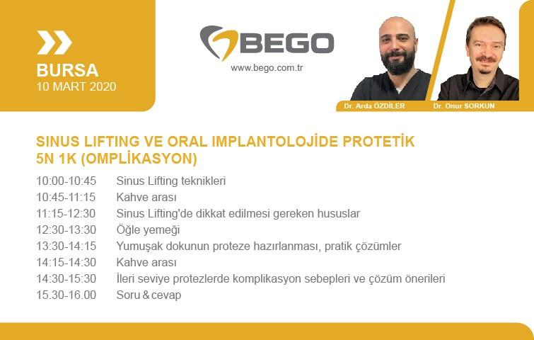 Sinus Lifting ve Oral Implantolojide Protetik 5N 1K (Omplikasyon)